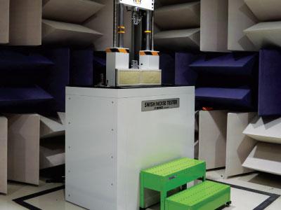 Shock Absorber Noise Testing System